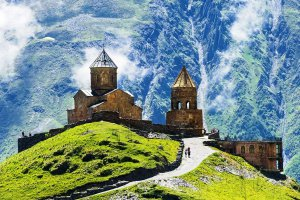 Gergeti church-Kazbegi tour-Georgia