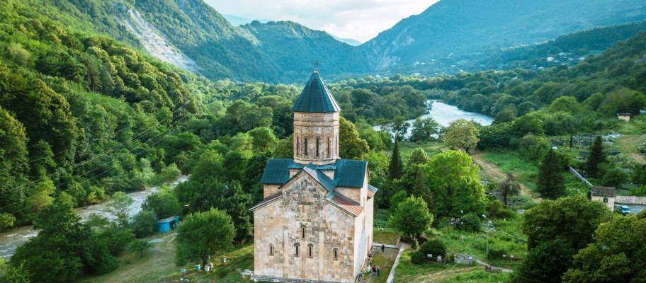 Barakoni church -racha-Georgia